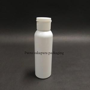 Botol Fliptop 100ml Warna Putih