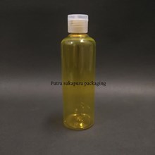 Botol Fliptop 250ml Kuning Tutup Natural