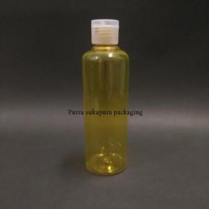 Botol Fliptop 250ml Kuning Tutup Natural
