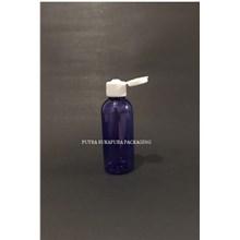 Botol Fliptop 60ml Violet Tutup Putih