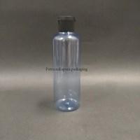 Botol Fliptop 250ml Biru Tutup Hitam 1
