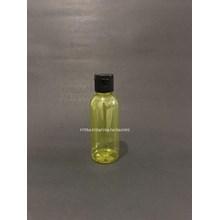 Botol Fliptop 60ml Kuning Tutup Hitam