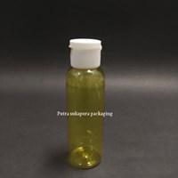Botol Fliptop 100 ml Kuning Tutup Putih