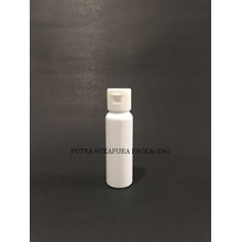 Botol Fliptop 27 ml Putih Tutup Putih
