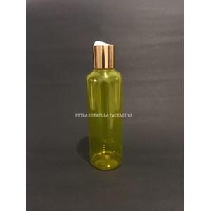 Botol Disctop 250 ml Kuning Tutup Aluminium Gold