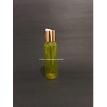 Botol Disctop 100 ml Kuning Tutup Aluminium Gold