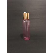 Disctop Bottle 100 ml Pink Aluminum Gold Cover