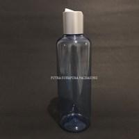 Botol Disctop 250 ml Biru Tutup Aluminium Silver