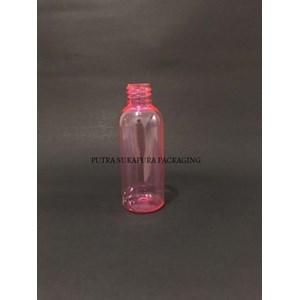 Botol BR PET 60 ml Pink Tanpa Tutup