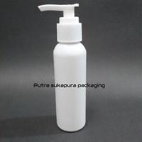Botol Pump 100 ml Putih Tutup Putih