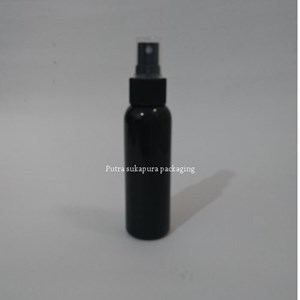 Botol Spray 100 ml Hitam Tutup Hitam