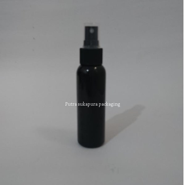 Botol Spray 100 ml Hitam Tutup Hitam