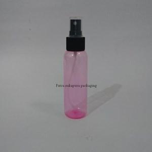 Botol Spray 100 ml Pink Tutup Hitam