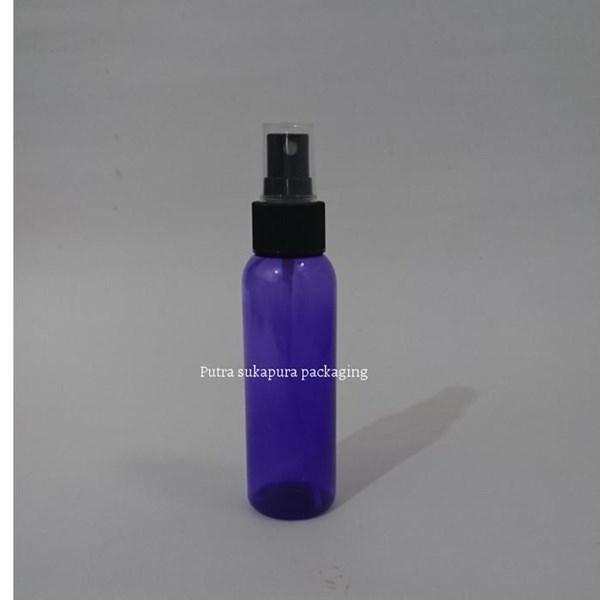 Botol Spray 100 ml Violet Tutup Hitam