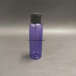 Botol Fliptop 100 ml Violet Tutup Hitam