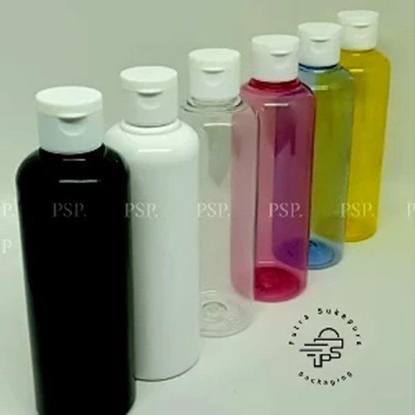 BOTOL FLIPTOP 250 ML TUTUP WARNA PUTIH