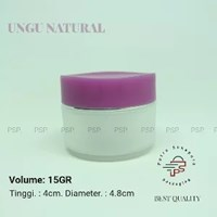 POT BUNGA 15 GR UNGU NATURAL
