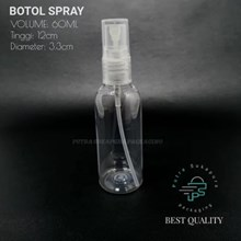 BOTOL SPRAY 60 ML CLEAR