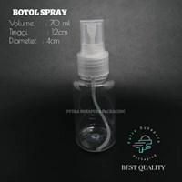 BOTOL SPRAY 70 ML CLEAR