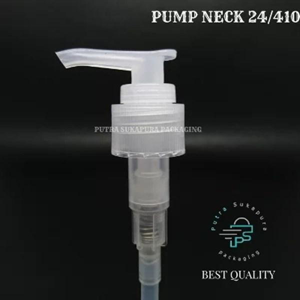 BOTOL PUMP 70 ML CLEAR MODEL TUBULAR