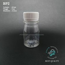 BOTOL BP2 50 ML CLEAR