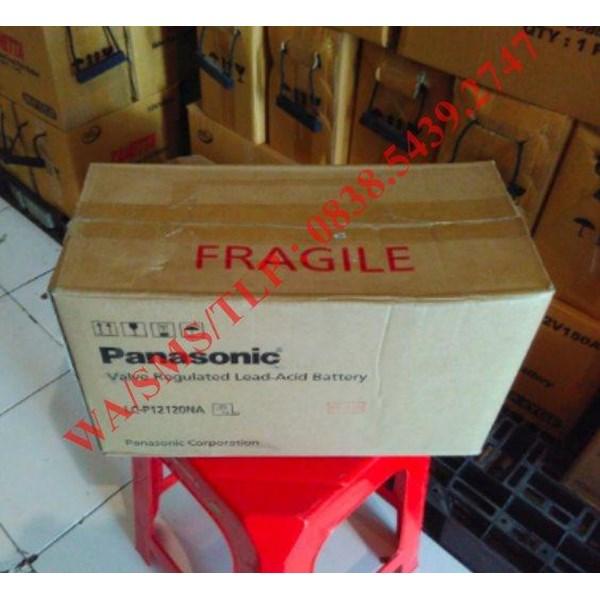 Baterai Aki Panasonic 12v 120 Ah