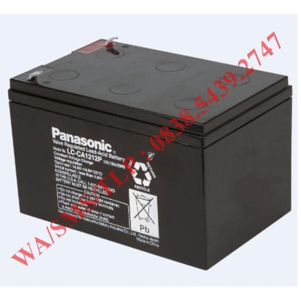 Baterai Aki Panasonic 12v 12 Ah
