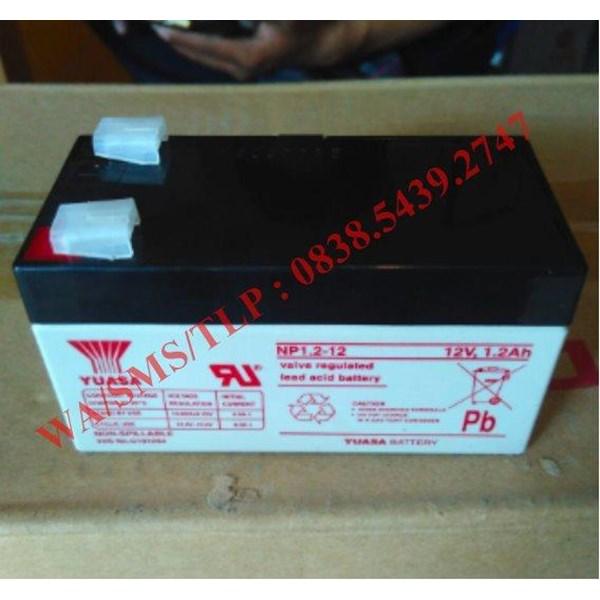 Baterai Aki Yuasa 12V 1.2Ah