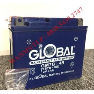 Baterai Aki Global GM7B-4B 12v 7ah