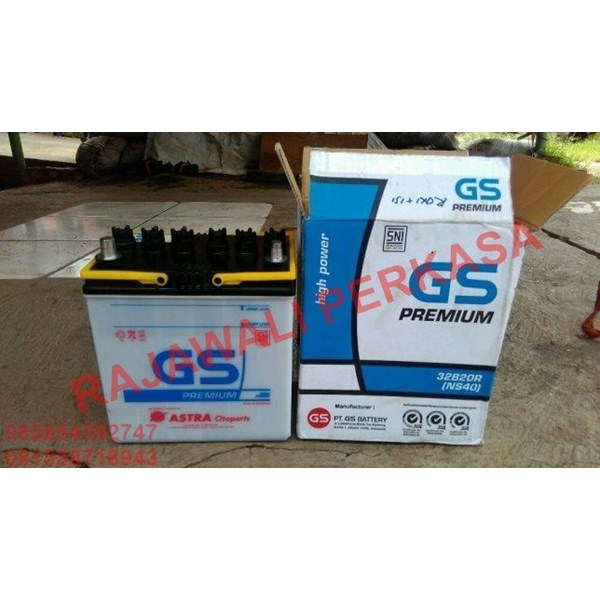 Aki Mobil GS NS40 12v 32ah