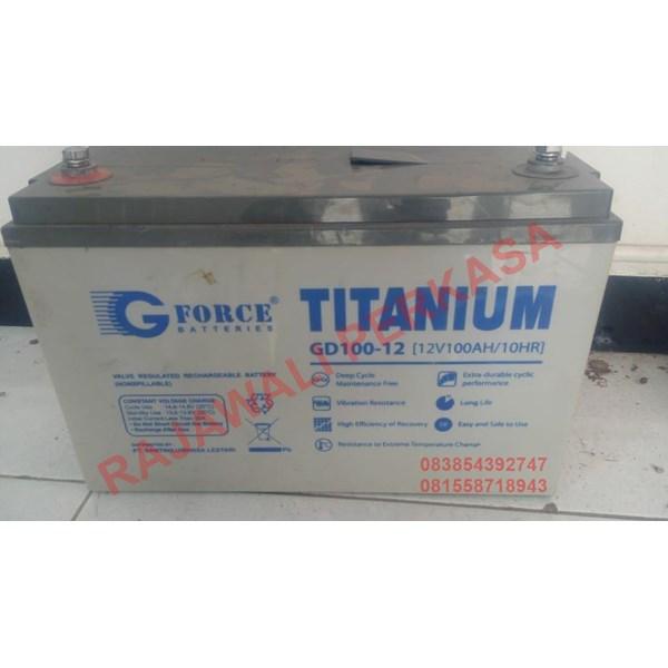 AGM Batteries G-Force GD 100-12 12v 100ah VRLA