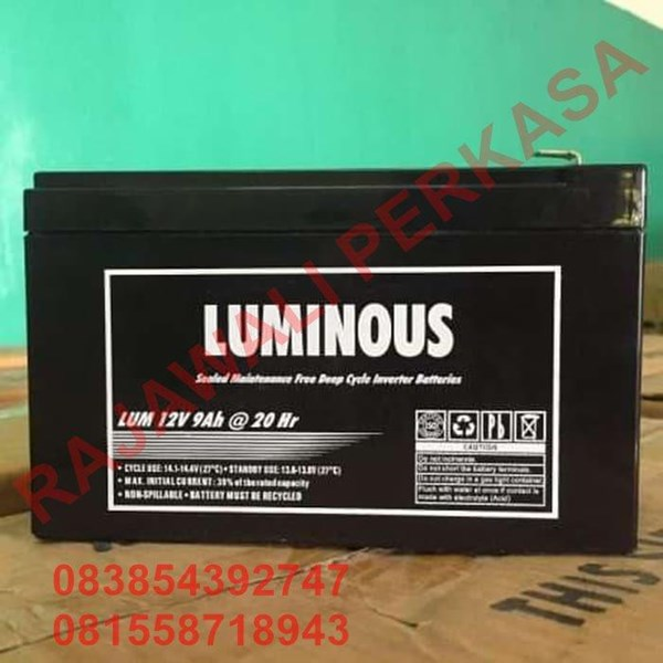 AGM Batteries VRLA Luminos 12v 9ah