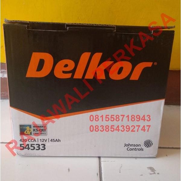 Aki Mobil MF Delkor 12v 45ah / 54553