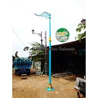 Tiang Lampu PJU Dekoratif Minimalis 1