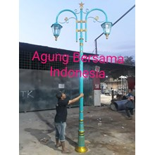 Model Tiang Lampu Antik Murah