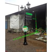 Jual Tiang PJU Lampu Taman Hias Dekoratif 2