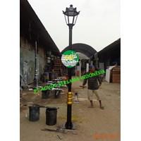 Tiang PJU Lampu Taman Hias Dekoratif Murah 5