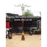 Tiang Lampu Jalan PJU  Antik Tangerang