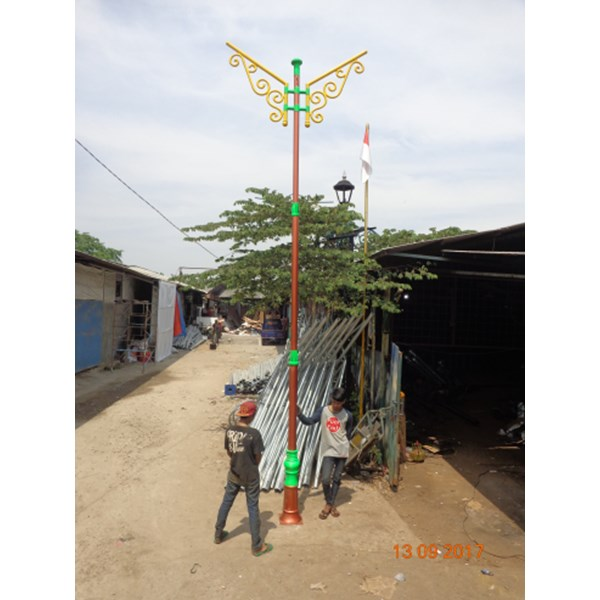 Tiang Pju Antik 2 ornament murah