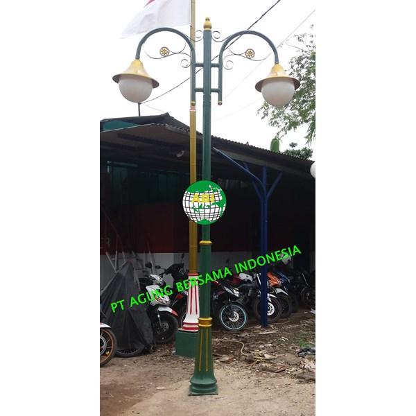 Pabrikasi Tiang Lampu Taman Klasik
