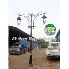 Tiang Lampu Antik dekoratif 1