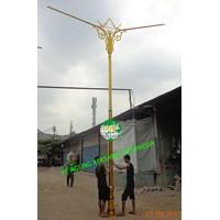 Distributor  Tiang Lampu Antik 3  Meter 3