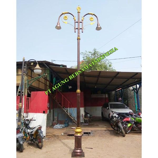 Tiang lampu jalan PJU Dekoratif ABI