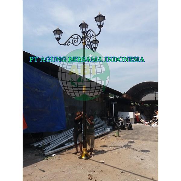 Tiang Pju Antik Kota Yogyakarta