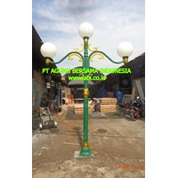 Antique Street Garden Light Pole