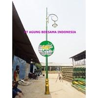 Tiang Pju Antik Kota Medan