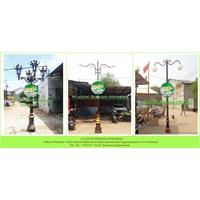 Central Java Garden Lampposts