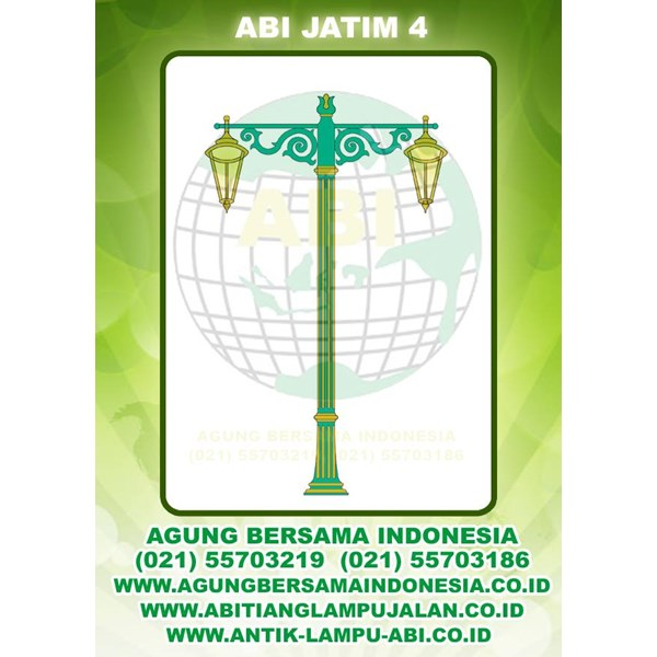 Tiang Lampu Taman Jawa Timur