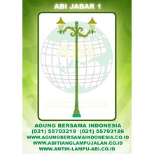 Tiang Taman ABI Jawa Barat