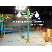 Tiang Lampu Outdoor